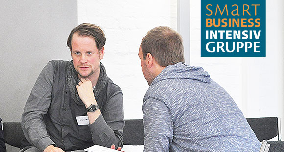 Marcus Klug in der Smart Business Intensivgruppe